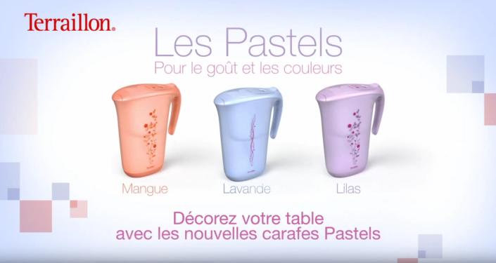 Carafes Pastel